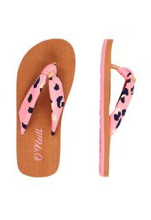 O'Neill---Girls'-Flip-flops---Woven-Strap---Pink