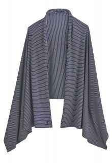 Coolibar---UV-sun-shawl-for-ladies---blue/white-stripes