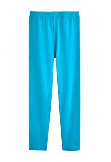 Coolibar---UV-Leggings-for-kids---Monterey---Turquoise