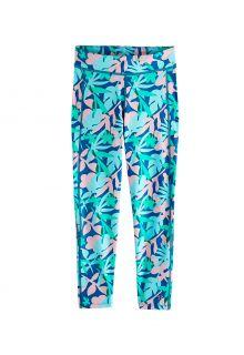 Coolibar---UV-Swim-legging-for-kids---Sunray-360---Marlin-Blue-Floral