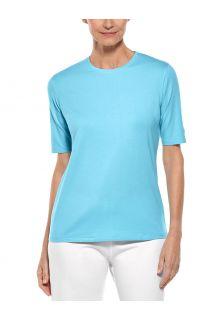 Coolibar---UV-Shirt-for-women---Morada-Everyday---Ice-Blue