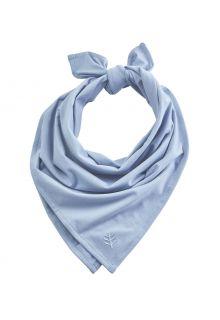 Coolibar---UV-resistant-Bandana-for-adults---Everyday-Beach---Vintage-Blue