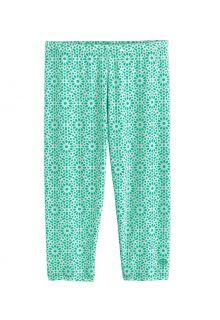 Coolibar---UV-Swim-Legging-for-girls---Wave-Capri---Sea-Mint