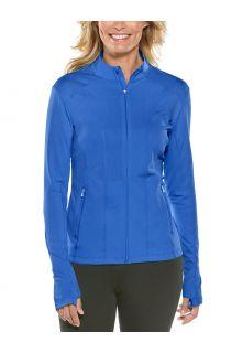 Coolibar---UV-Swim-Jacket-for-women---Malawi---Baja-Blue