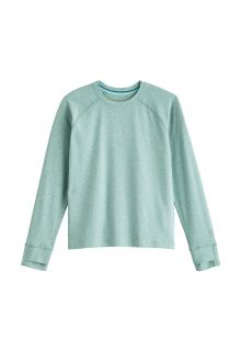 Coolibar---UV-Shirt-for-kids---Longsleeve---LumaLeo---Light-Sage
