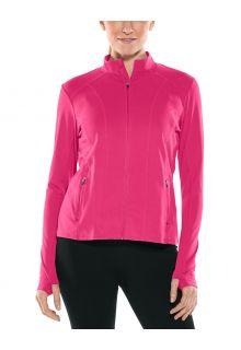 Coolibar---UV-Swim-Jacket-for-women---Malawi---Jazzy-Pink