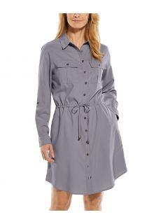 Coolibar---UV-Travel-shirt-dress-for-women---Napa---Dapple-Grey