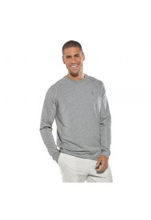 Coolibar---Long-sleeve-UV-shirt-for-men---heather-grey