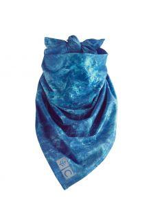Coolibar---UV-resistant-Bandana-for-adults---Abacos-Aqua---Blue-Water