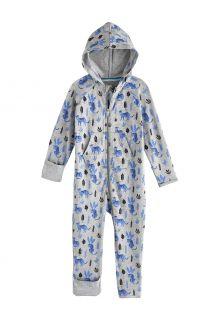 Coolibar---UV-Onesie-with-hood-for-babies---LumaLeo-Bodysuit---Grey-Leopard