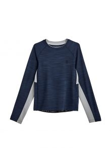 Coolibar---UV-Swim-Shirt-for-boys---Longsleeve---Ultimate-Rash---Navy