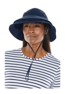 Coolibar---Convertible-Sun-Hat-for-women---Tatum-Explorer---Navy