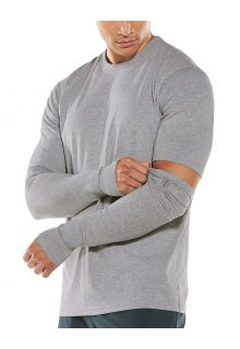 Coolibar---UV-Sun-Sleeves-for-men---LumaLeo---Grey