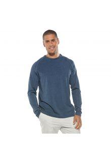 Coolibar---Long-sleeve-UV-shirt-for-men---dark-blue