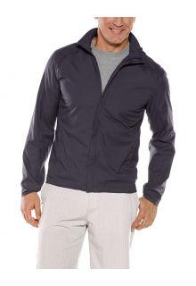 Coolibar---Packable-UV-Summer-Jacket-for-men---Verdon---Onyx