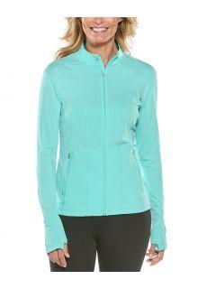 Coolibar---UV-Swim-Jacket-for-women---Malawi---Tropical-Mint