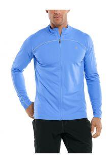 Coolibar---UV-Swim-Jacket-for-men---Menorca---Surf-Blue
