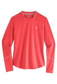 Coolibar---UV-Sports-Shirt-for-women---Longsleeve---Match-Point---Prism-Pink