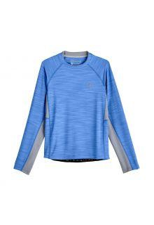 Coolibar---UV-Swim-Shirt-for-boys---Longsleeve---Ultimate-Rash---Surf-Blue