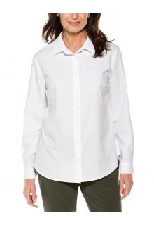 Coolibar---UV-Shirt-for-women---Hepburn-Blouse---White