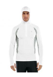 Coolibar---UV-Hooded-Rash-Guard-for-men---Point-Break---Mercury/White