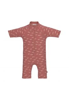 Lässig---UV-Swim-suit-for-babies---Sunsuit-Waves---Rosewood