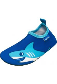 Playshoes - UV swim shoes for boys - Shark - Blue - Front