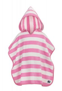 Snapper-Rock---Hooded-baby-towel-pink-stripes