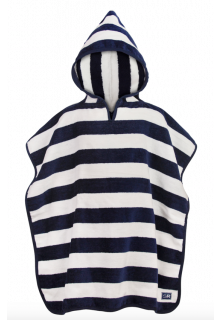 Snapper-Rock---Hooded-baby-towel-blue-stripes