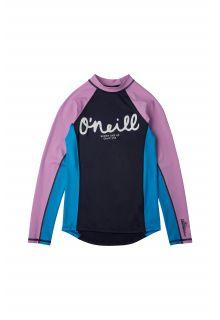 O'Neill---UV-Swim-shirt-for-girls---Longsleeve---Skins---Scale
