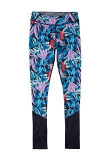 O'Neill---UV-Swim-legging-for-girls---Print---Blue-AOP