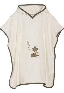 Playshoes - Baby towel with hoodie - Teddy - Front