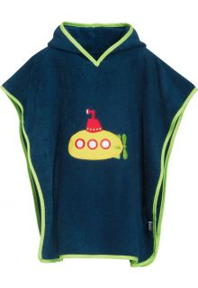 Playshoes - Baby towel with hoodie - Submarine - Front