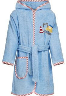 Playshoes---Bathrobe-for-boys---Construction---Lightblue