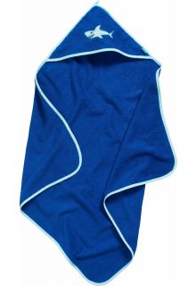 Playshoes---Bath-towel-with-hoodie---Shark
