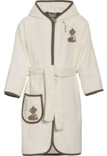 Playshoes - Bathrobe with hoodie for girls - Teddy - Front