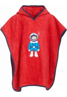 Playshoes - Baby towel with hoodie - Diver - Front