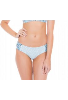 Cabana Life - UV resistant Bikinibottom for ladies - Blue/White - Front