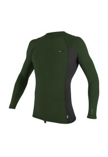 O'Neill---Men's-UV-shirt---Longsleeve---Premium-Rash---Dark-Olive