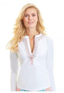 Cabana-Life---UPF-50+-Essentials---White-Embroidered-Rashguard