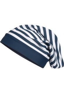 Playshoes - UV beanie for children - Maritime - Navy blue / white - Front