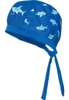 Playshoes - UV swim bandana for boys - Shark - Blue - Front