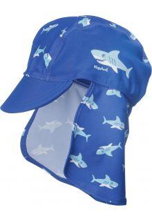 Playshoes - UV Swim Cap Kids- Shark - 0