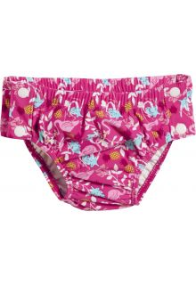 Playshoes - UV swim nappy for girls - Reusable - Flamingo - Pink - Front
