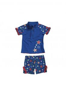 Playshoes - UV Swim Set Kids- Stars - 0