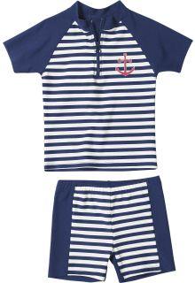 Playshoes - UV Swim Set Kids- Maritime - 0