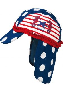 Playshoes - UV children sun cap - Sea Horse - 900
