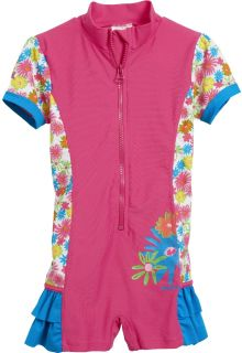 Playshoes - UV swimsuit - pink flowers - 18