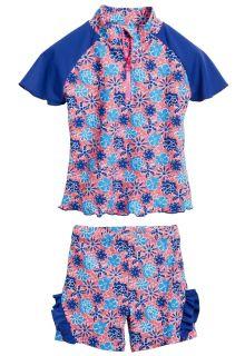 Playshoes - UV swim set - flowers blue - 41