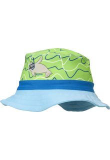 Playshoes - UV sun hat for boys and girls - seal - blue/green - Front
